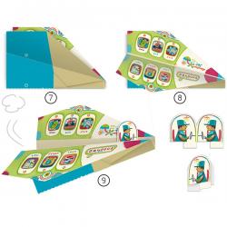 Origami. Aviones.