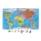 Mapa Mundi puzzle magnético versión español