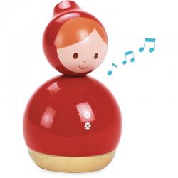 Caja de música Caperucita Roja. Diseño de Shinzi Katoh.