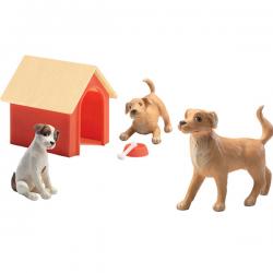 Casa de muñecas. Los perros.