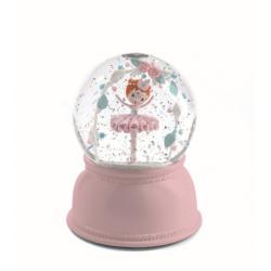 Lámpara Bola de Nieve . Bailarina