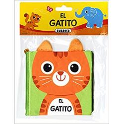 El gatito. Libro sensorial para bebé