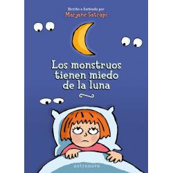 Los monstruos tienen miedo de la luna. Marjane Satrapi