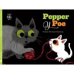 Pepper y Poe. Frann Preston-Gannon