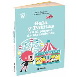 Gala y Patitas en el parque de atracciones. Marc Clamens y Laurence Jammes