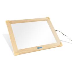 Mesa de actividades con luz LED