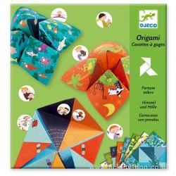 Origami. Saleros con pruebas