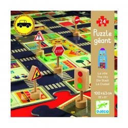 Puzzle gigante. La ciudad. 24 pcs