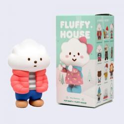 Muñecos Fluffy House. Mr White Cloud Mini Series 2