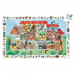 Puzzle observación. La casa. 35 pcs.