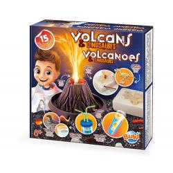 Volcanes y dinosaurios. Juego de ciencia
