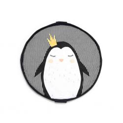 Manta de juegos y bolsa de almacenaje Pingüino. Play & Go Soft