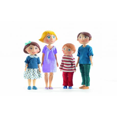 Casa de muñecas. Familia Gaspar & Romy
