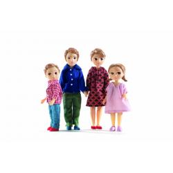 Casa de muñecas. Familia Thomas & Marion