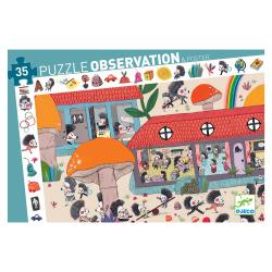 Puzzle Observación. La escuela del erizo. 35 pcs.