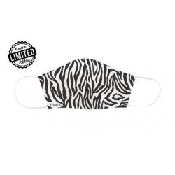 Mascarilla para adultos. Modelo Zebra. FISURA