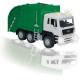 Camión de basura con luz y sonido