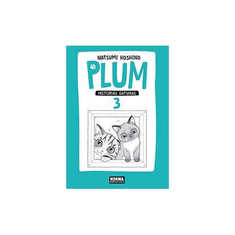 Plum. Historias Gatunas 3. Natsumi Hoshino.
