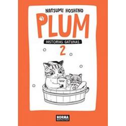 Plum, historias gatunas 2. Natsumi Hoshino.