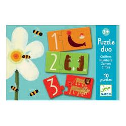 Puzzle Duo. Cifras