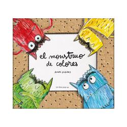 El Monstruo de Colores. Pop - Up . Anna Llenas.