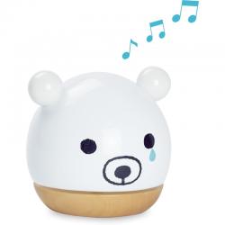 Caja de música Sora Bear. Diseño de Shinzi Kattoh