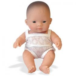 Muñeco sexado niña asiática.
