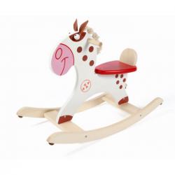 Rocking horse. Caballito balancín de madera