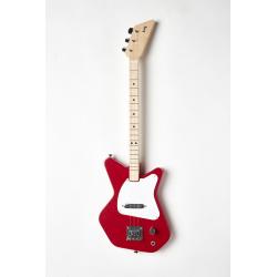 Loog Pro. Guitarra eléctrica roja