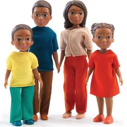 Casa de muñecas.Familia Milo & Mila