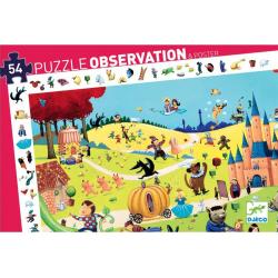 Puzzle observación. Los cuentos. 54 pcs