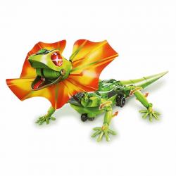 Diy Lizard robot interactivo
