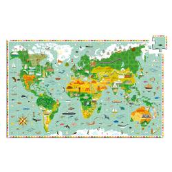 Puzzle observación. La vuelta al mundo. 200 pcs