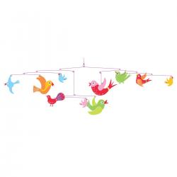 Móvil Los pájaros