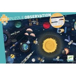 Puzzle Observación. El Espacio. 200 pcs.