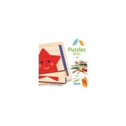 Puzzles Basic. 36 pcs. Djeco