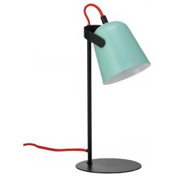 Lámpara de mesa Chloe. Verde. FISURA