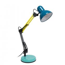 Lámpara de mesa Ralph. Azul. FISURA
