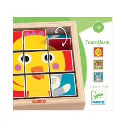 Puzzle Rompecabezas, Tournifarm. DJECO