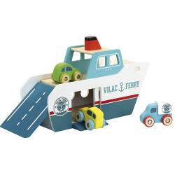 Barco Ferry de madera. VILAC
