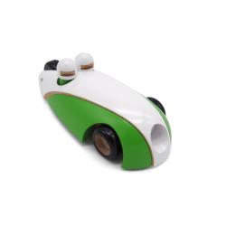 Coche de madera ecológico. Green Riders. WODIBOW