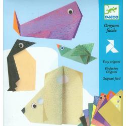 Origami fácil. Los animales polares. DJECO