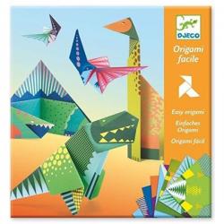 Origami fácil. Los dinosaurios. DJECO