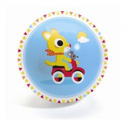 Pelota de plástico, Cute race. 12 cm. DJECO