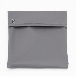 Bolso portabocadillos, color gris. IMASKKI