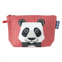 Neceser de algodón orgánico. Oso panda. COQENPÂTE