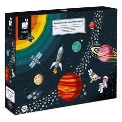 Puzzle, El sistema solar. 100 pcs. JANOD