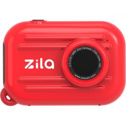 Cámara de fotos digital. Color rojo. ZILA