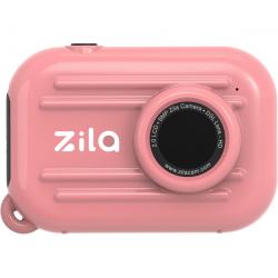 Cámara de fotos digital. Color rosa. ZILA