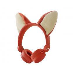 Auriculares infantiles con orejitas de zorro. KIDYWOLF